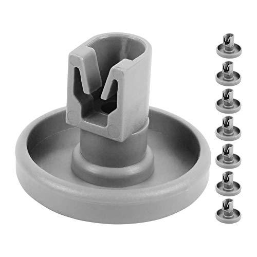-Universal Dishwasher Accessory Wheels for AEG Favorit Privileg Zanussi 8 Pieces Kit-