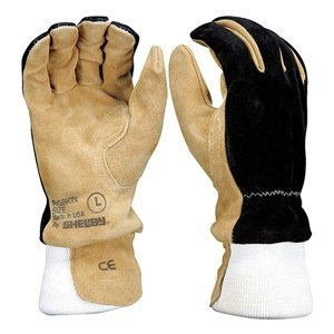 Firefighters Gloves, L, Pigskin, PR B007PBB6X2