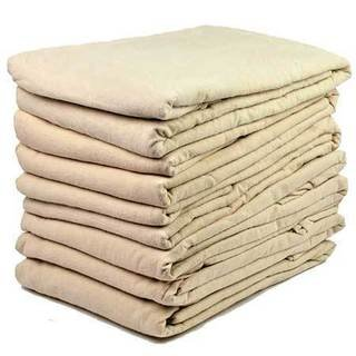 Massage Sheets Set - Flannel - Fitted - Professional Grade Massage Linens - 36x78x4 - Tan/Beige/Natural (Pack of (Ftd Natural)