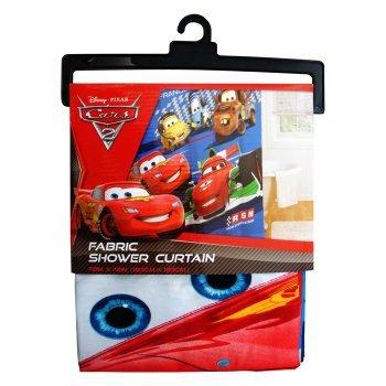 Disney Pixar Cars 2 Arrows Microfiber Shower Curtain 72 By Inch