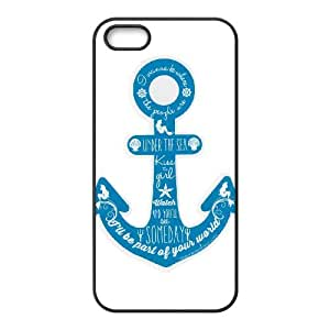 Anchor Quotes iPhone 4 4s Cell Phone Case Black Pwvgq