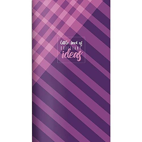 Violet Argyle Jotter Mini Notebook