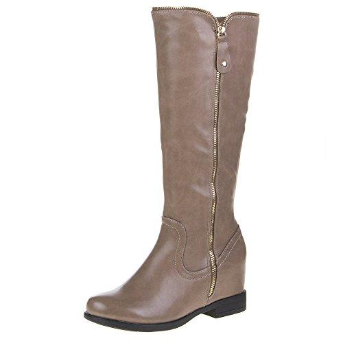 YS 5 - Botas para mujer Marrón - marrón claro