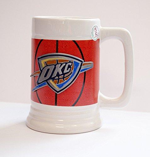 NBA Officially Licensed Stein Mug Cup (Oklahoma City - Glasses Eye City Oklahoma