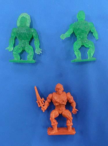 He-Man MOTU Gumball Machine Mini Figures He Man Skeletor Beastman 1984 Lot -