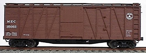 Accurail HO 40' Outside Braced Wood Boxcar Kit Maine Central #35807