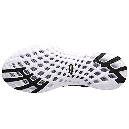 Gray on M Aleader Water Black 9 Shoes D Athletic Slip US Mens Fqvnqfg