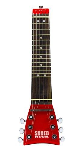 - Shredneck Practice Neck - Red - Supreme Model SN12-RD-CH
