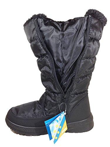 Botas De Invierno De Invierno Para Mujer Con Cordones Zipper (vipfootwear) Elise_zipper