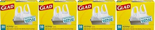 Glad Tall Kitchen Handle- mfmnNt Tie Trash Bags, 13 Gallo...