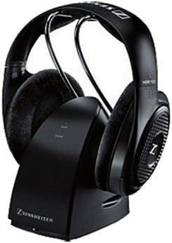 Sennheiser RS-127 - Auriculares (Supraaural, Diadema, 20-20500 Hz, Alámbrico/Inalámbrico, RF, 21h) Negro