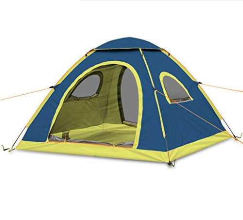 メイエラ気候宇宙テント屋外テント3-4キャンプ防雨自動テント屋外キャンプテントZXCV
