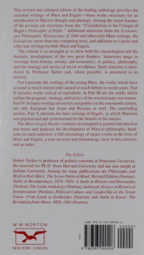 an analytic review of the marx engels reader by robert c tucker essay Karl marx & friedrich engels, robert c tucker (editor) this revised and enlarged edition of the leading anthology provides the essential writings of marx and engels--those works necessary you can write a book review and share your experiences other readers will always be interested in your.