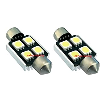 s36 C4 W – Blanco Bus CAN, C5 W festón 36 mm Matrícula SMD LED