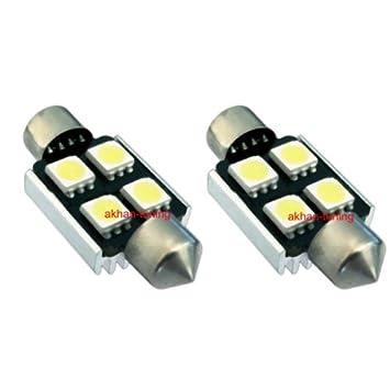 s36 C4 W – Blanco Bus CAN, C5 W festón 36 mm Matrícula SMD LED