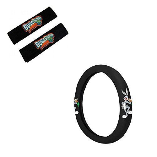 Bugs Bunny Accessories (Bugs Bunny Head Rest Cover And Wheel Cover)