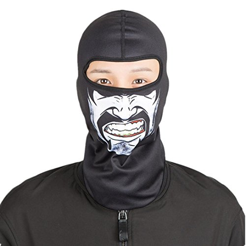Outdoor Sports Headgear Warm Scarf Quick-drying Fabric Hat Tactical Mask (G) from A.M.Feker
