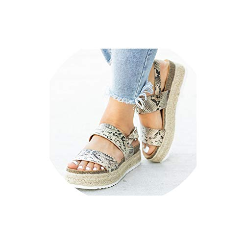 InnovativeVersionSin 2019 New Sandals with Wedges Shoes for Women Summer Chaussures Femme Leather Heels Sandalias Mujer
