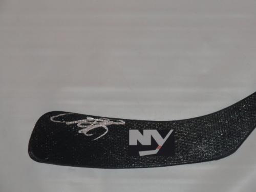 Anders Lee Autographed Stick Koho Brookyln Proof Autographed NHL Sticks