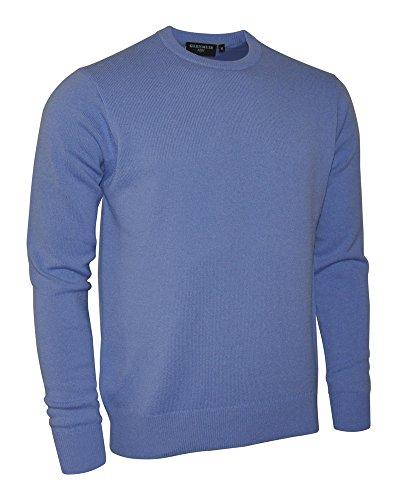 Glenmuir Lambswool crew neck sweater (BPL5902) Light Blue XL