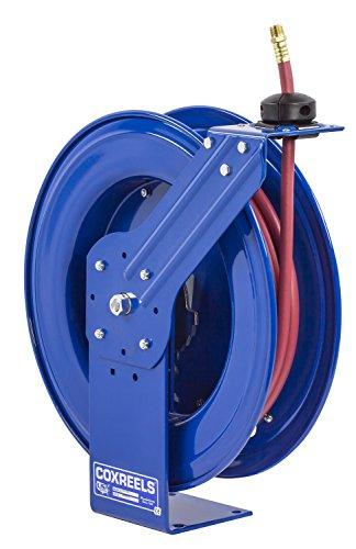 Spring Rewind Reel (Coxreels SH-N-160 Low Pressure Spring Rewind Hose Reel with Super Hub: 1/4