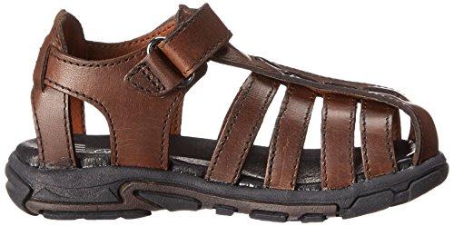 UMI Carsten - Sandalias Abiertas de Piel Niños marrón - marrón (Cognac)