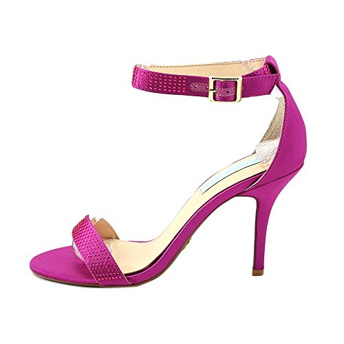Johnson Stiletto Studded Satin Sandals Dress Shilo Betsey Womens Raspberry ZwaxRqAaSn