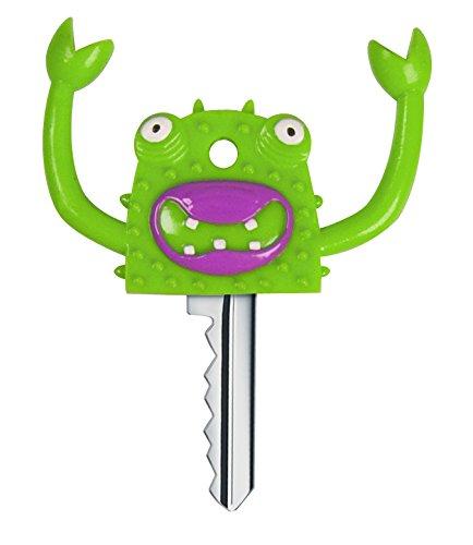 Un lot de couvre-clés tête de monstre : pour le plus effrayant des trousseaux
