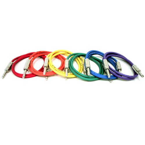 GLS Audio 3ft Patch Cable Cords - 1/4