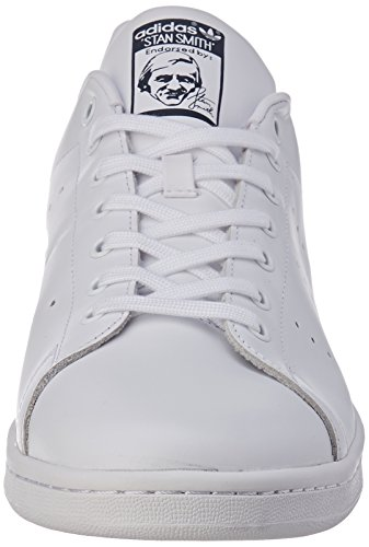 Deporte Blanco Adulto running Zapatillas Navy Adidas new Originals De Unisex Smith White Stan qXxBw8A4