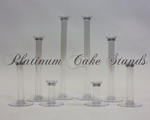 Cake Stand Candle Glass Votive Set 8 Tier