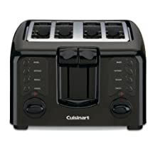 CUISINART CPT-142BKC 4-Slice Compact Toaster, Black
