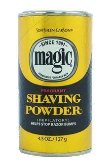 Magic Fragrant Shaving Powder Gold 4.5 Ounce (127g) (2 Pack)