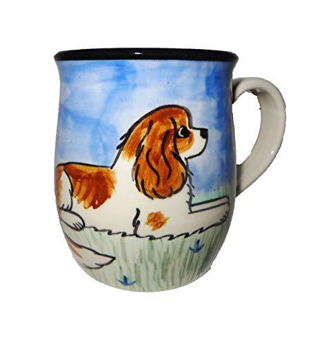 Karen Donleavy Designs Deluxe BLENHEIM Cavalier King Charles Spaniel Mug