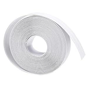 White waterproof mildew self-adhesive decorative strip, (3.8 cm X 3.2 m) / 1pcs