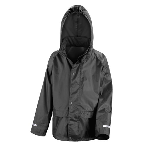 Result Childrens/Kids Big Boys Core Junior Stormdri Rain Over Jacket