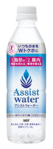 [Tokuho] AGF assist water 500ml X 24 this by AGF (Ejiefu)