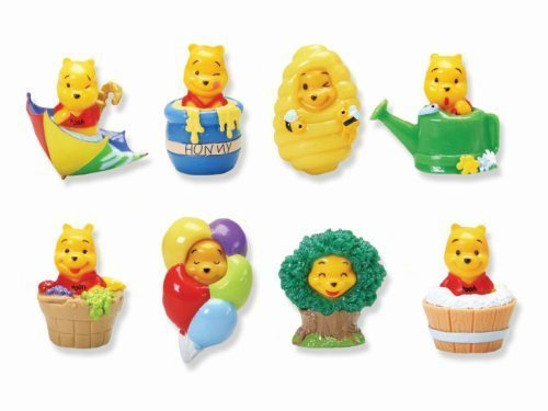 - Disney Winnie the Pooh - Peek a Pooh Figures - 100 Acre Wood - Set of 8 Vending Machine Toys