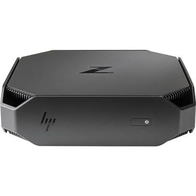 HP 2UA38UT#ABA Workstation Z2 Mini G3 Performance, 32 GB Ram, 512 GB SSD, Nvidia Quadro/Intel HD Graphics, Black/Gray