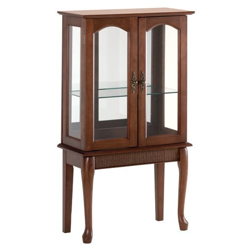 corner crafty design wall cabinet cool glass me curio with small doors