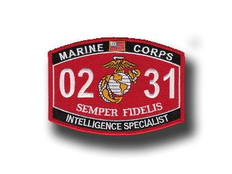 Amazon.com: Intelligence Specialist Marine Corps MOS 0231 5 ...