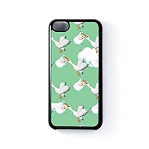 fenglinlinCrane carrying new born baby Black Hard Plastic Case for Apple? iphone 6 plus 5.5 inch by Nick Greenaway + FREE Crystal Clear Screen Protector