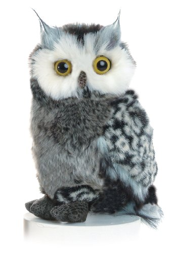 "Aurora World 9"" Barney the Plush Great Horned Owl"