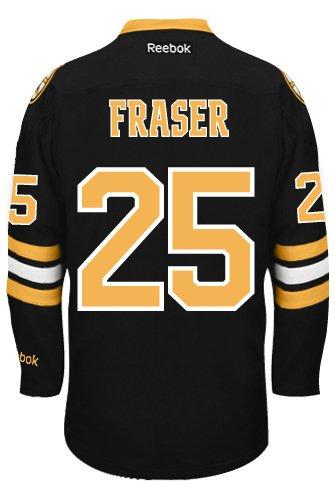 brand new b235c dbc57 Matt Fraser Boston Bruins Reebok Premier Third Jersey NHL ...