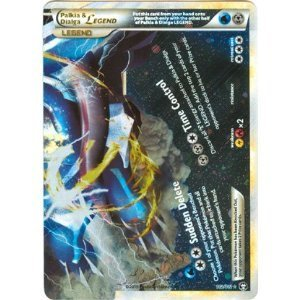 Pokemon Legend HS4 Triumphant Single Card Palkia & Dialga LEGEND Bottom #102 Rare Holo (Pokemon Palkia Plush)