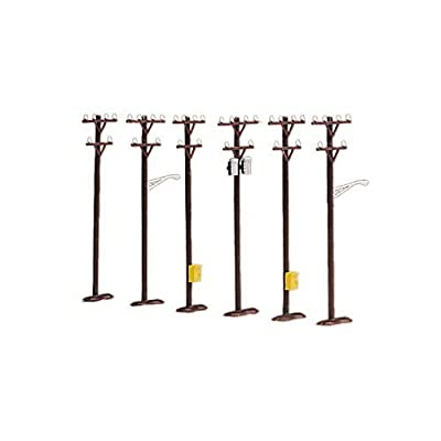 O Telephone Pole Set (6): Toys & Games
