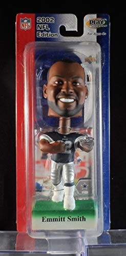 (2002 Upper Deck Play Makers Emmitt Smith Dallas Cowboys Blue Jersey Bobblehead )