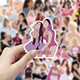 50Pcs Singer Ariana Grande Waterproof Stickers for