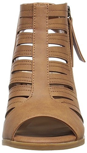 Damen Tan Easy Karlie Absatzsandale Burnish Street WnY0w66qS