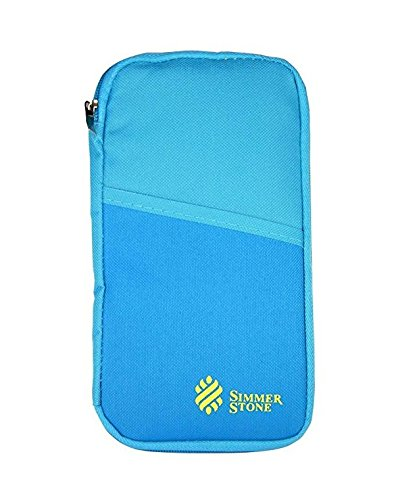 Multi-Function Travel Passport Holder Credit Id Card Stash Organizer Case Bag D